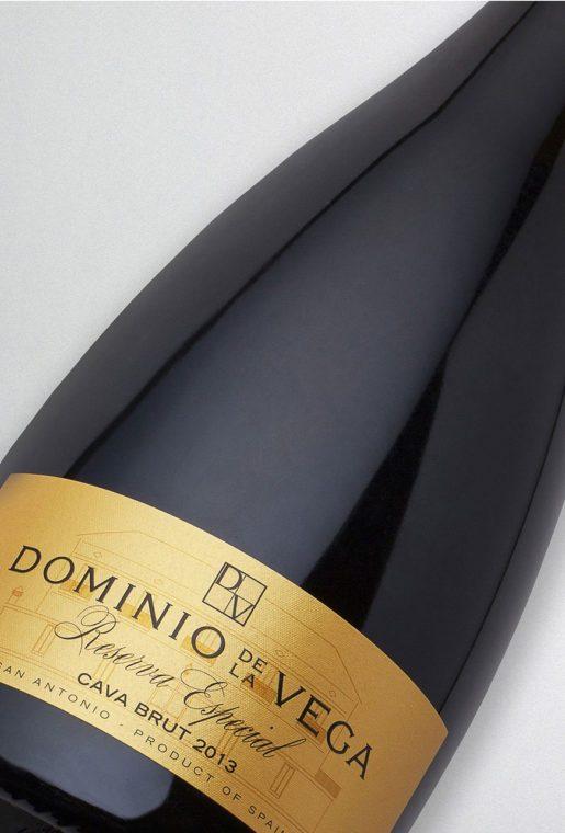 Etiqueta Botella 75cl. Cava brut reserva especial 2013