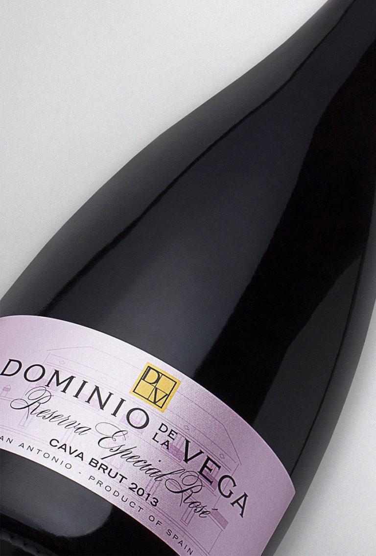 Etiqueta botella 75cl. Cava brut reserva especial rose 2013