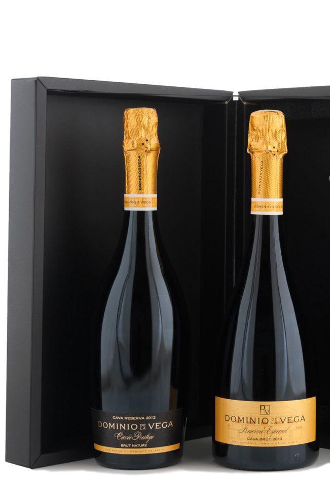Estuche 2 botellas de 75cl. de Cava brut reserva Especial y Cuvée Prestige