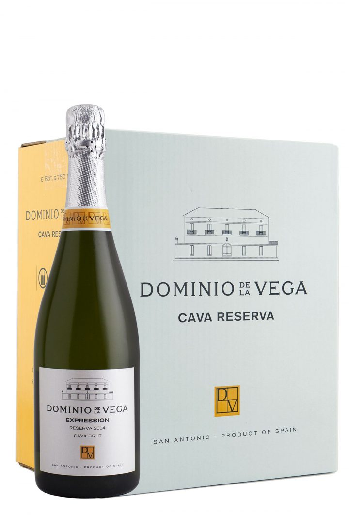 Caja 6 botellas 75cl. Cava brut nature Expression 2014