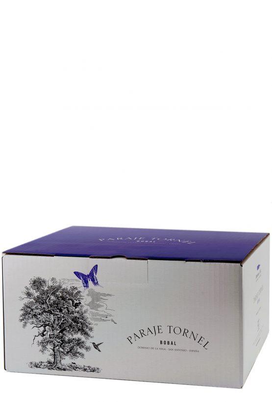 Caja 6 botellas 75cl. Vino tinto de botal Paraje Tornel 2013