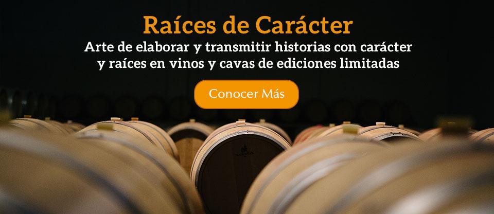 Raíces de Carácter. Arte de elaborar y transmitir historias con carácter y raíces en vinos y cavas de ediciones limitadas