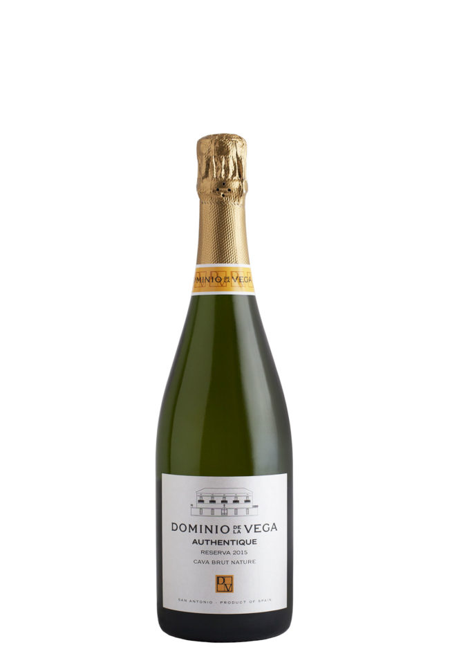 Botella 75cl. Cava brut nature reserva Authentique 2015