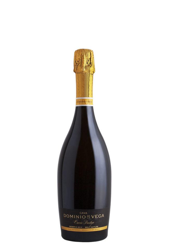 Botella 75cl. Cava brut nature reserva Cuvée Prestige 2014