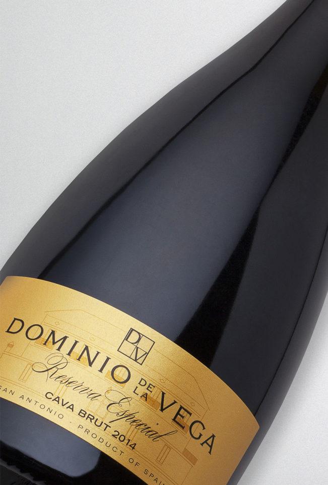 Etiqueta botella 75cl. Cava brut reserva especial 2014