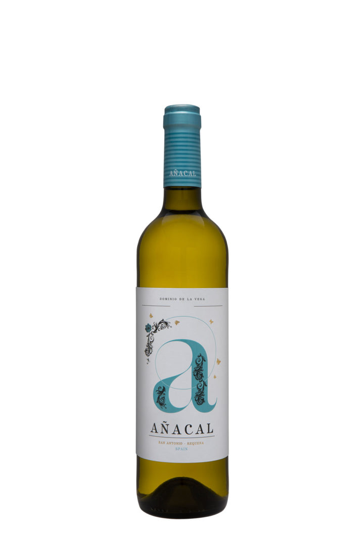 Botella 75cl. Vino blanco jóven Añacal 2017