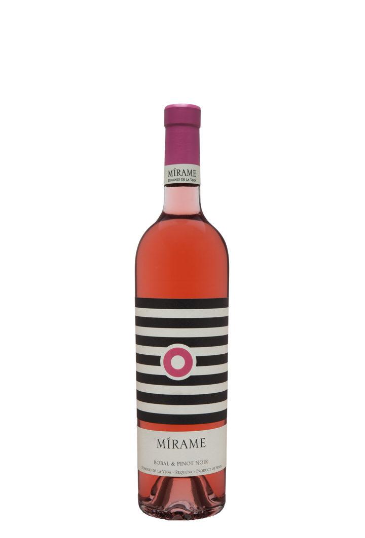 Botella 75cl. Vino rosado Mírame 2016