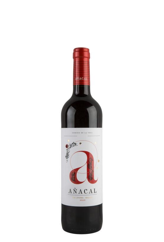 Botella 75cl. Vino tinto jóven Añacal 2017