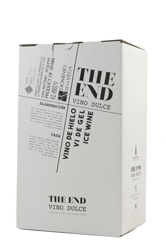 Caja 6 botellas 50cl. Vino dulce de hielo The End