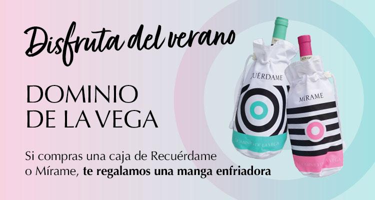Disfruta del verano con Dominio de la Vega: Promoción vino Recuérdame y Mírame