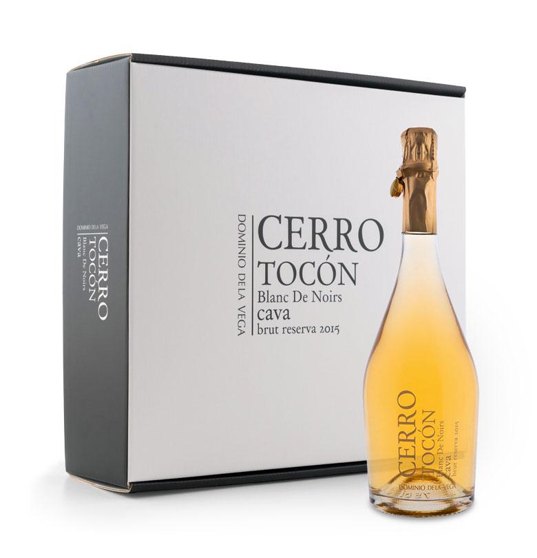 Caja de 3 botellas de Cava Cerro Tocón