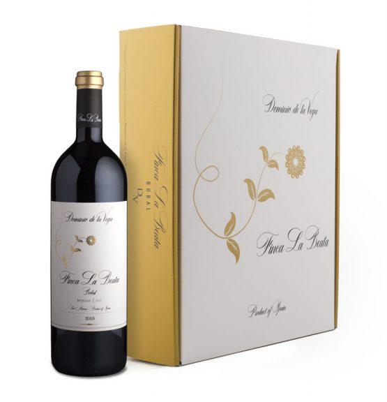 Caja de 3 botellas de vino Finca La Beata